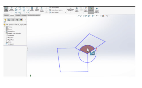 Selecting multiple CONTOUR is no more hassle with SOLIDWORKS